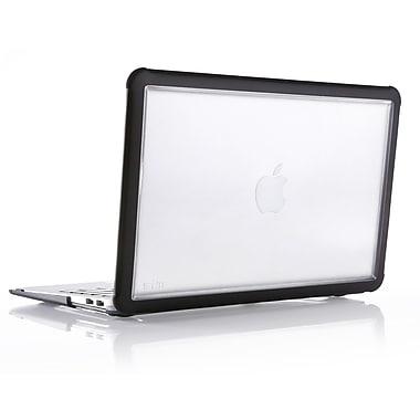 STM – Étui Dux pour MacBook de 11 po, noir