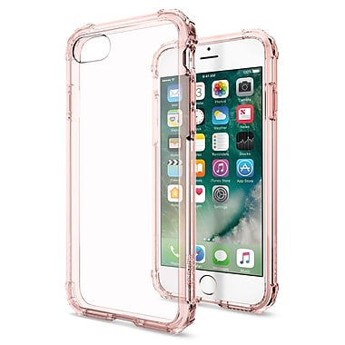 Spigen – Étui Crystal pour iPhone 7, cristal rose