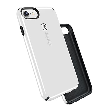 Speck CandyShell for iPhone 7, White/Charcoal Grey