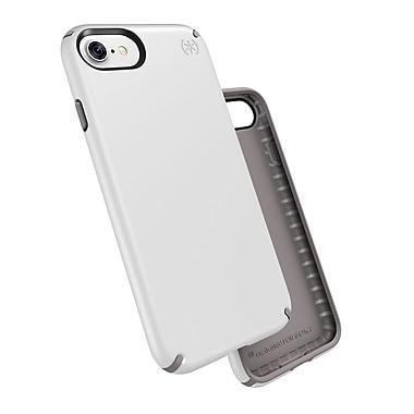 Speck – Étui Presidio pour iPhone 7, blanc/gris cendré