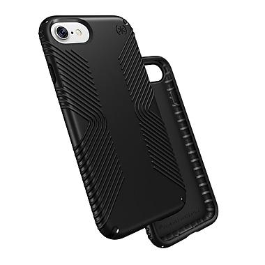 Speck – Étui Presidio Grip pour iPhone 7, noir/noir