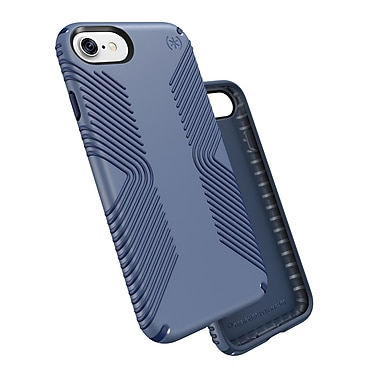 Speck – Étui Presidio Grip pour iPhone 7, crépuscule/bleu marine