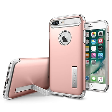 Spigen – Étui Slim Armor pour iPhone 7 Plus, or rose