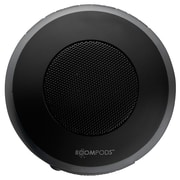 Boompods Aquapod Water/Shockproof Speakers, Dark Grey