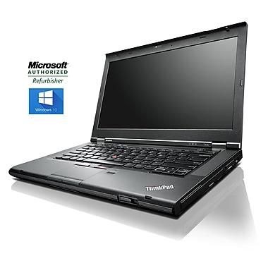 Lenovo - Portatif Thinkpad (T430) 14 po, remis à neuf, 2,6GHz Intel Core i5-3320M, RAM DDR3 8Go, SSD 240Go, Windows 10 Pro