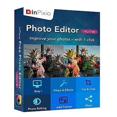 InPixio Photo Editor, Home Edition, [Download]