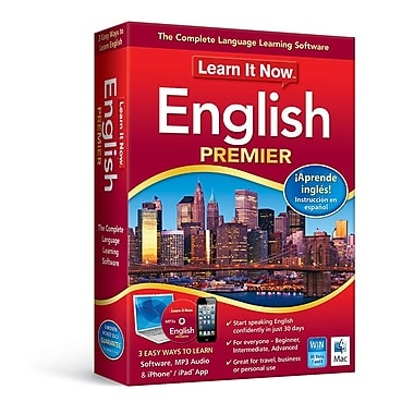 Learn It Now: English Premier, Mac, [Download]