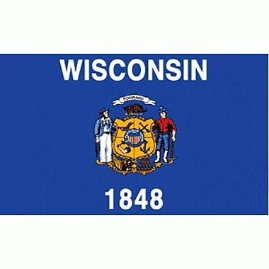 NeoPlex Wisconsin Traditional Flag