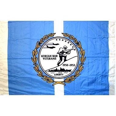 NeoPlex Korean Veterans Glo Traditional Flag