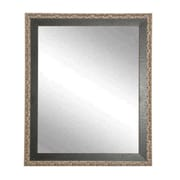 BrandtWorksLLC Noble and Pewter Wall Mirror; 26'' H x 31'' W