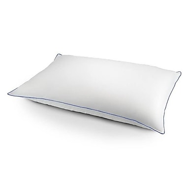 Effortless Bedding Firm Bed Duck Chamber Feather and Down Pillow; King