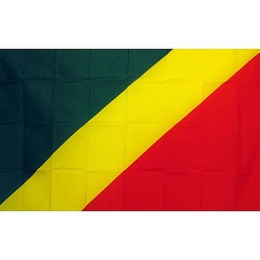 NeoPlex Republic of Congo Country Traditional Flag