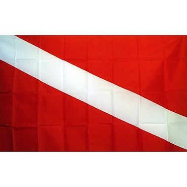 NeoPlex Diver Novelty Traditional Flag