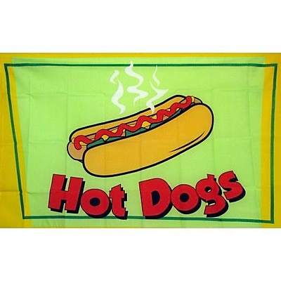 NeoPlex Hot Dogs Traditional Flag