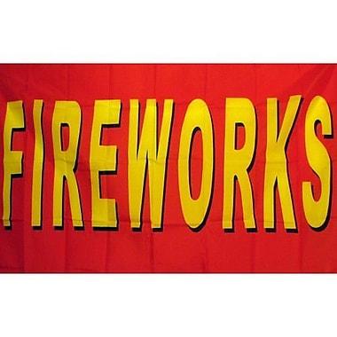 NeoPlex Fireworks Traditional Flag