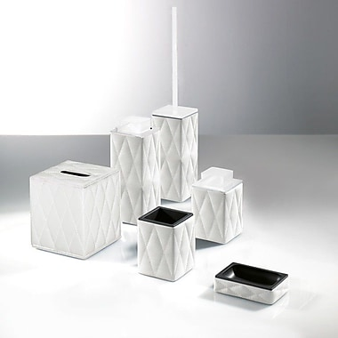 Gedy by Nameeks Palace 6-Piece Bathroom Accessory Set; White