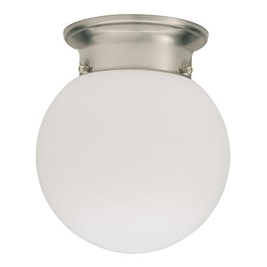 Lithonia Lighting Globe 1-Light Flush Mount