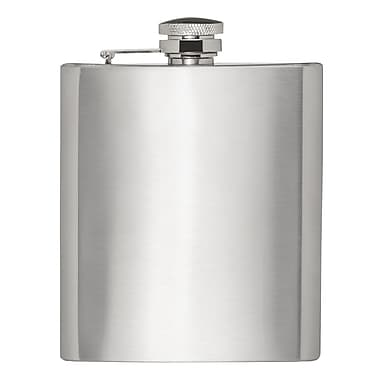 HIC Harold Import Co. 8 oz. 18/8 Stainless Steel Hip Flask