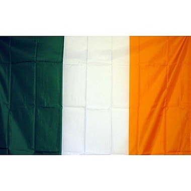 NeoPlex Ireland Country Traditional Flag; 36'' H x 60'' W
