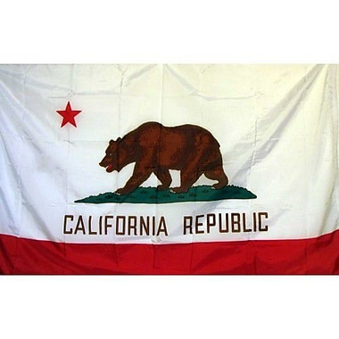 NeoPlex California Traditional Flag; Nylon