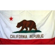 NeoPlex California Traditional Flag; Polyester
