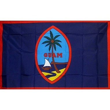 NeoPlex Guam Traditional Flag; Polyester