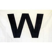 NeoPlex W Wringley Field Traditional Flag; Dark Blue