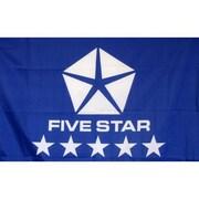 NeoPlex Fivestar Auto Logo Traditional Flag; Blue