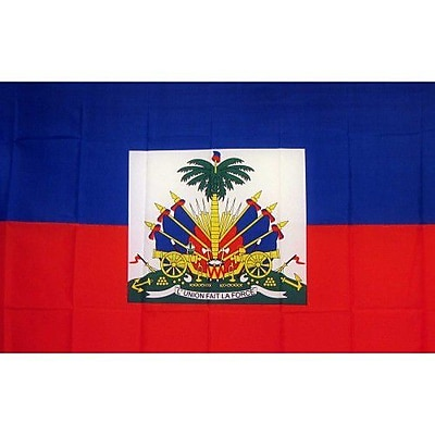 NeoPlex Haiti Country Traditional Flag