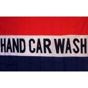 NeoPlex Hand Car Wash Traditional Flag