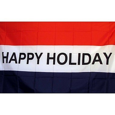 NeoPlex Happy Holiday Traditional Flag
