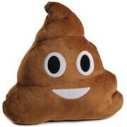 Zoomie Kids Lily Emoji Poop Pillow Throw Pillow