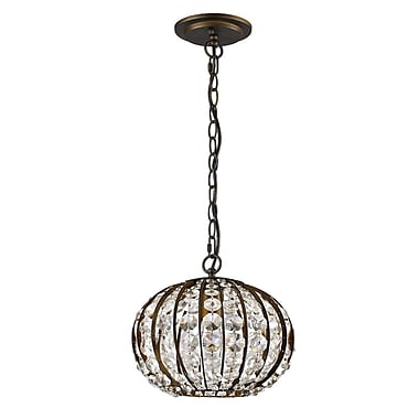 Acclaim Lighting Olivia 1-Light Globe Pendant; Oil Rubbed Bronze