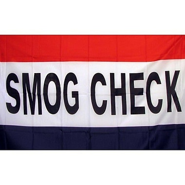 NeoPlex Smog Check Traditional Flag