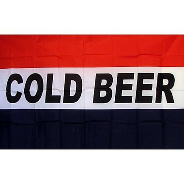 NeoPlex Cold Beer Traditional Flag