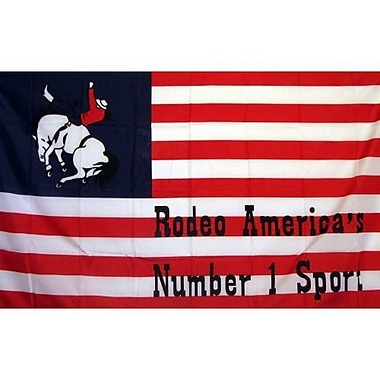 NeoPlex US Rodeo Historical Traditional Flag