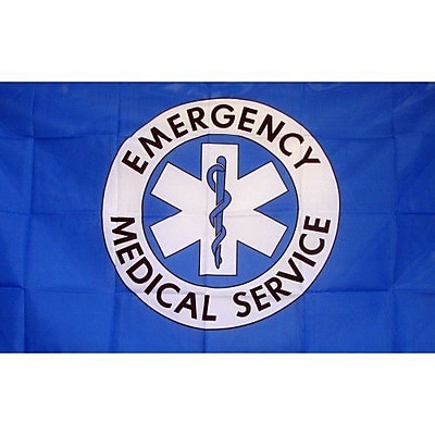 NeoPlex Emergency Medical Services Traditional Flag