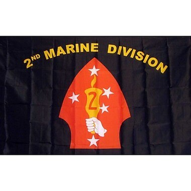 NeoPlex Marines 2nd Division Traditional Flag
