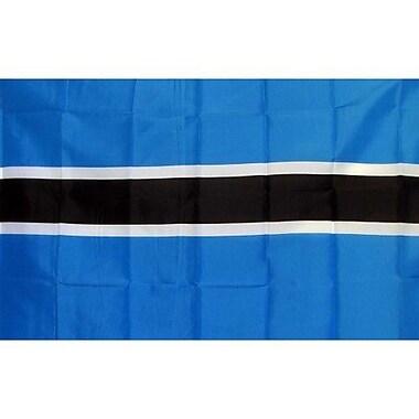 NeoPlex Botswana Country Traditional Flag