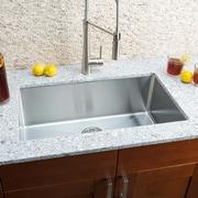 Hahn Chef Series 30'' x 18'' Single Bowl Undermount Kitchen Sink