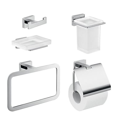 Gedy by Nameeks Atena 5 Piece Bathroom Hardware Set