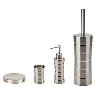 Gedy by Nameeks Namibia 4-Piece Bathroom Accessory Set