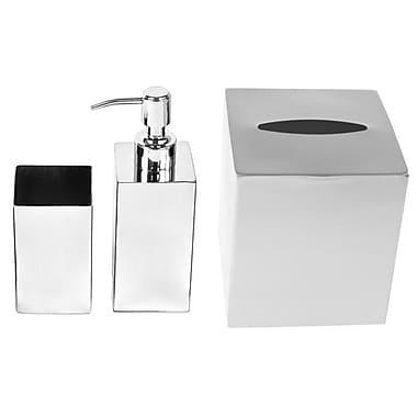 Gedy by Nameeks Nemesia 3-Piece Bathroom Accessory Set