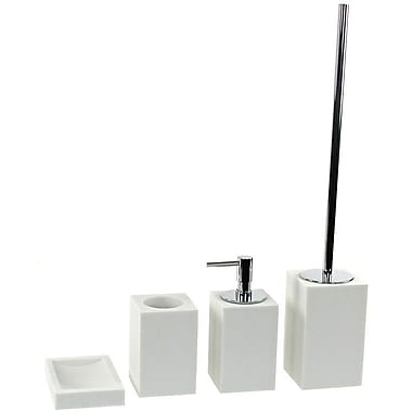 Gedy by Nameeks Oleandro 4-Piece Bathroom Accessory Set