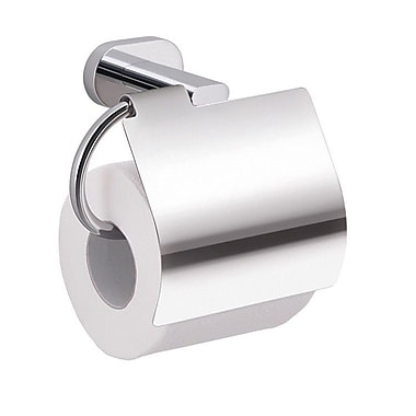 Gedy by Nameeks Bernina Wall Mounted Toilet Paper Holder w/ Cover