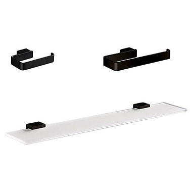 Gedy by Nameeks Lounge 3 Piece Bathroom Hardware Set