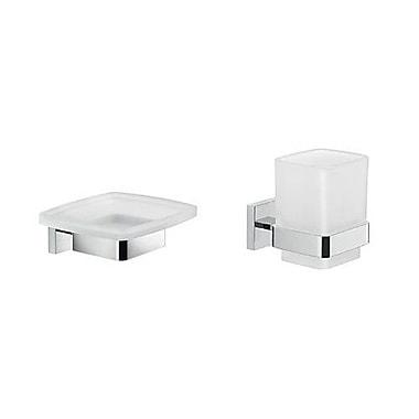Gedy by Nameeks Elba 2-Piece Bathroom Accessory Set
