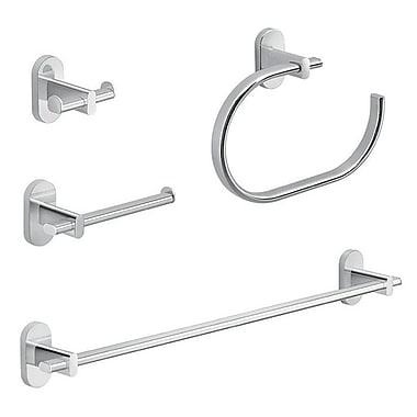 Gedy by Nameeks Febo 4 Piece Bathroom Hardware Set