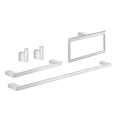 Gedy by Nameeks Lanzarote 5 Piece Bathroom Hardware Set
