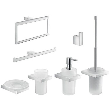 Gedy by Nameeks Lanzarote 7 Piece Bathroom Hardware Set
